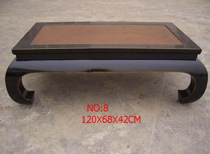 Custom Make Canetop Ming Style Coffee Table